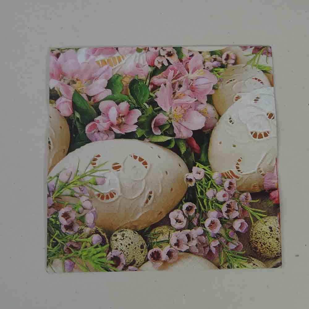 Guardanapo Flores Ovos